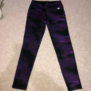 Purple Shaded Leggings
